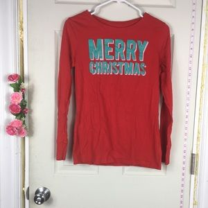 Old Navy Christmas Cotton Tee Long Sleeve SP